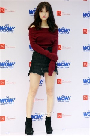 171012 AOA's Jimin @ FNC WOW! Celebrity 太空 Opening Party