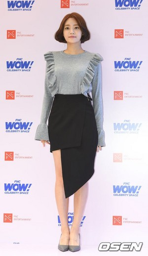 171012 AOA's Yuna @ FNC WOW! Celebrity spazio Opening Party