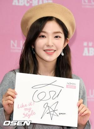 171021 Red Velvet's Irene @ NUOVO Fansign Event