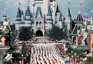 1971 Grand Opening Of disney World