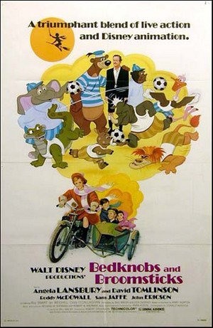 1971 Movie Poster, Beckons And Broomsticks