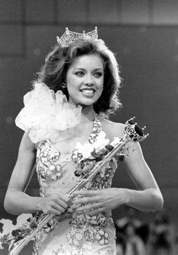 Vanessa Williams achtergrond called Miss America 1983
