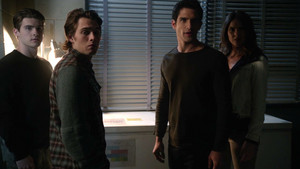 6x17 ~ licantropi of Londra ~ Scott, Malia, Liam and Theo