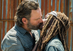 8x01 ~ Mercy ~ Michonne and Rick
