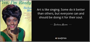 A Quote From Barbara Mason