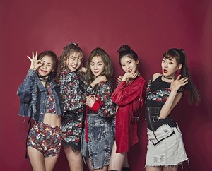 A100 Entertainment New Girl Group '네온펀치(NeonPunch)' Group Profil Foto