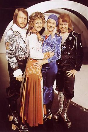 ABBA In Waterloo-Eurovision 1974 Winner