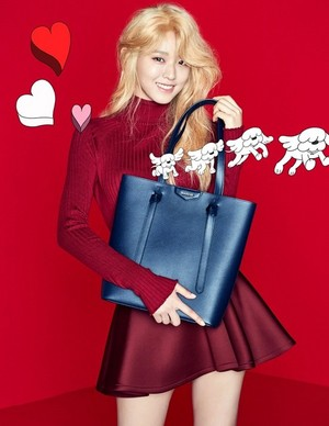 AOA's Seolhyun for Hazzys Accessories 17FW Collection
