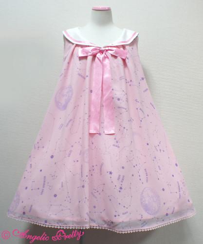 Lolita achtergrond titled AP cosmic sailor jsk roze