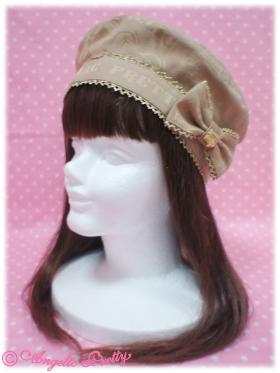AP royal melty chocolate beret, baret mocha