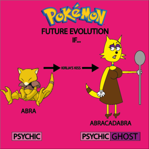 Abra's Future Evolution in 8°Generation