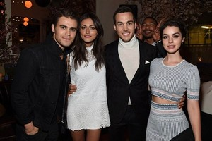 Adelaide, Phoebe, Chris and Paul