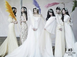 After School member Jungah Wedding фото