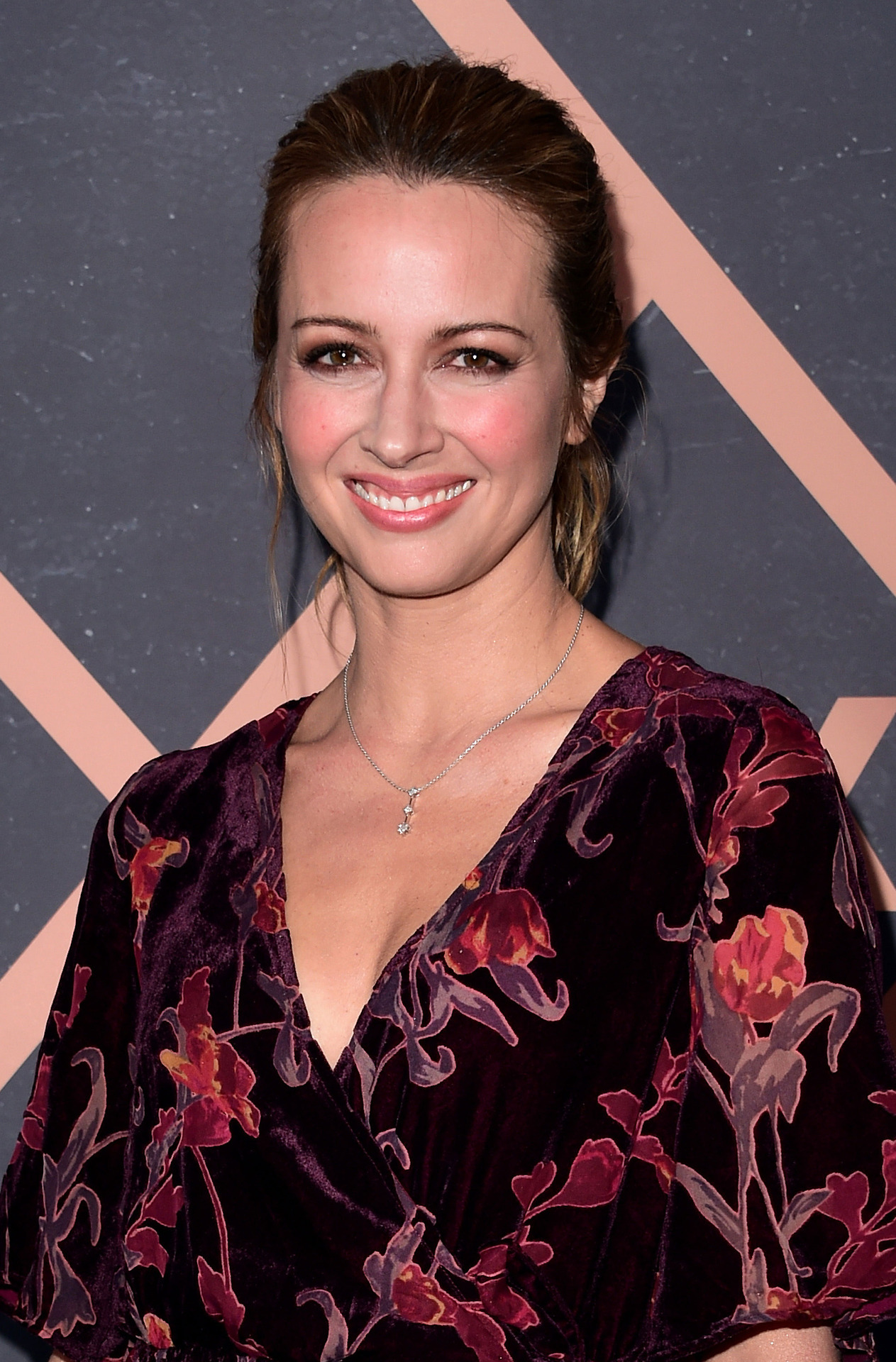 Amy Acker at the Fox Fall Party