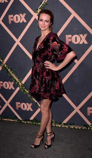 Amy Acker at the zorro, fox Fall Party