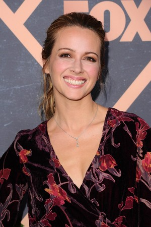Amy Acker at the raposa Fall Party