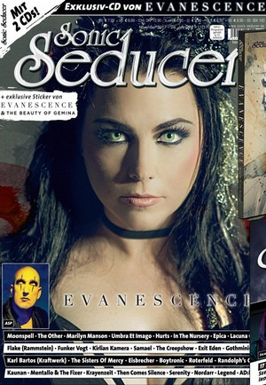 Amy on the Front Cover of Sonic Seducer