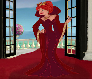 Anastasia Tremaine as the Red Queen (Her Once Upon A Time counterpart)