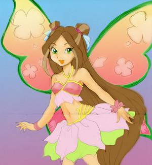 animé Winx Flora