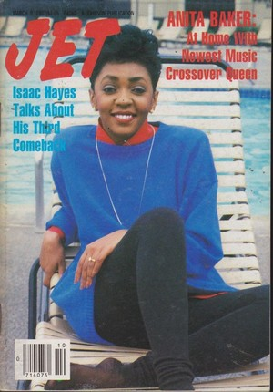 Anita Baker On The Cover Of Jet