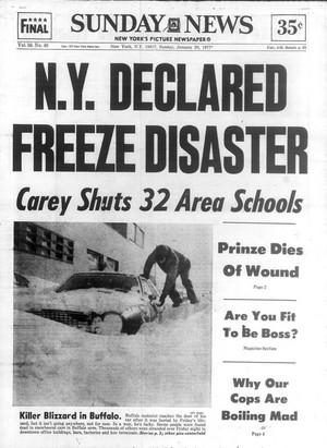 文章 Pertaining To Blizzard Of '77