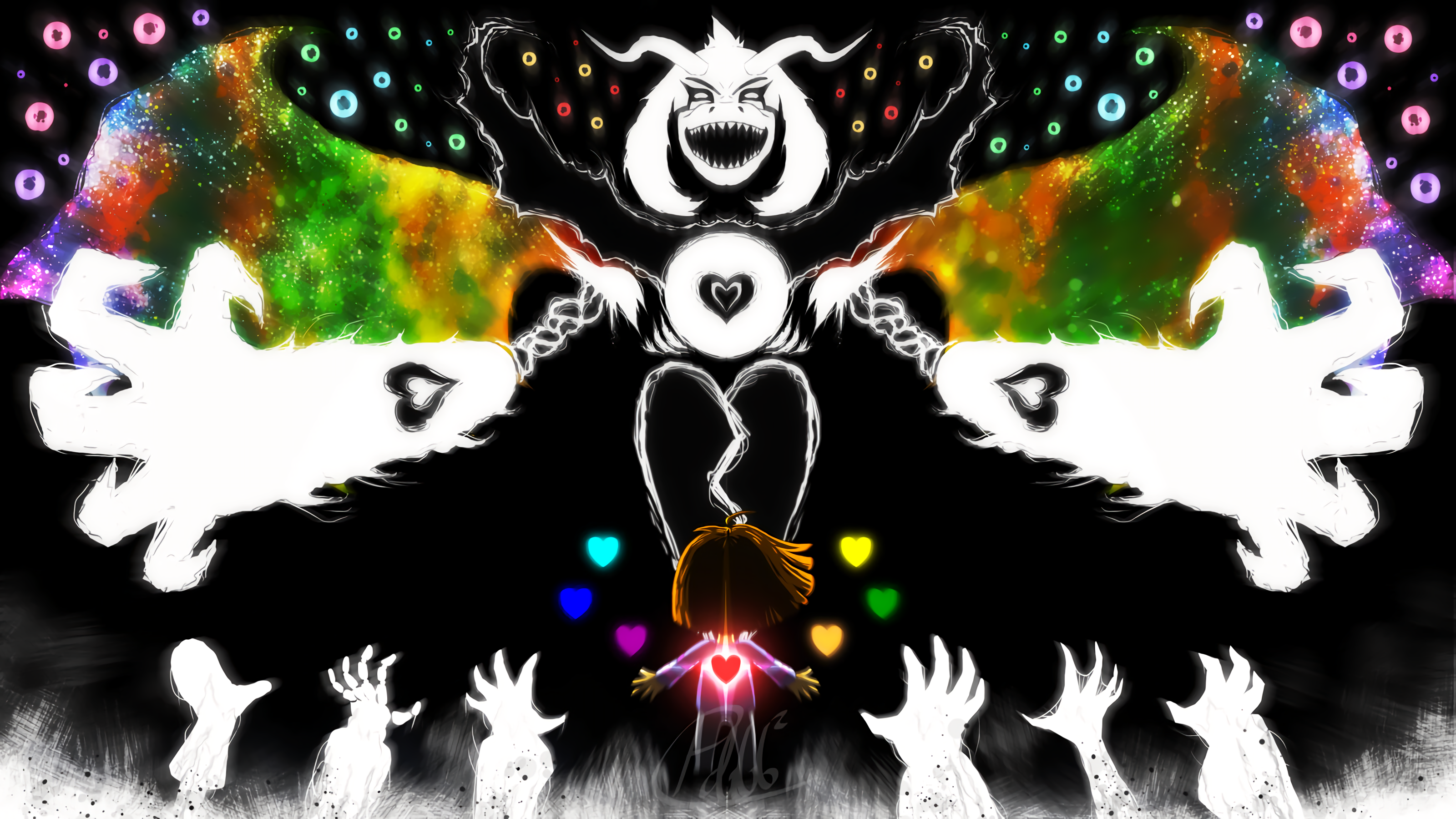 undertale images Asriel Dreemurr Boss Fight HD wallpaper and background photos