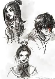 Azula, June, and Zuko