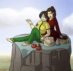 Azula and Toph