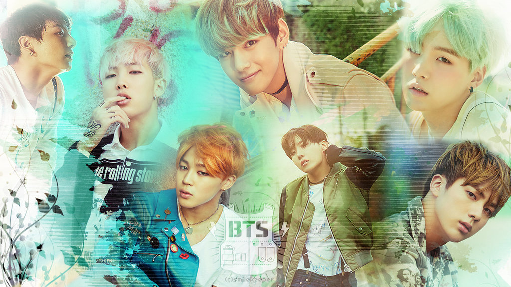BTS HD wallpaper