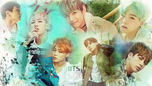 Bangtan Boys HD wallpaper