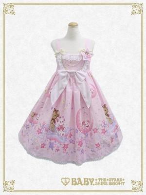 BTSSB Kumya chan s Glitter Milky Way jsk rosa, -de-rosa