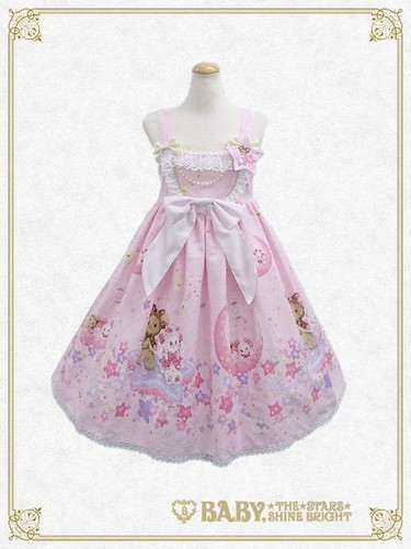 Lolita দেওয়ালপত্র entitled BTSSB Kumya chan s Glitter Milky Way jsk পরাকাষ্ঠা