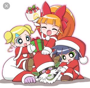 Baby ChristmasPuff Z!