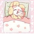 Baby Flowey Sleeping in a ডাবা