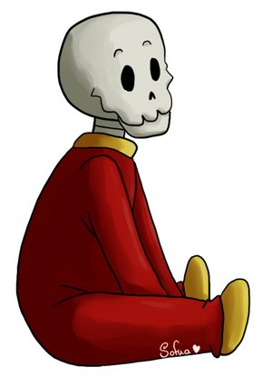 BabyBones!Papyrus the Skeleton