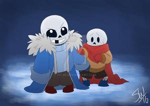 BabyBones!Sans and BabyBones!Papyrus