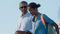 Barack And Oldest Daughter, Malia  - barack-obama photo