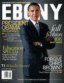 Barack On The Cover Of Ebony  - barack-obama photo