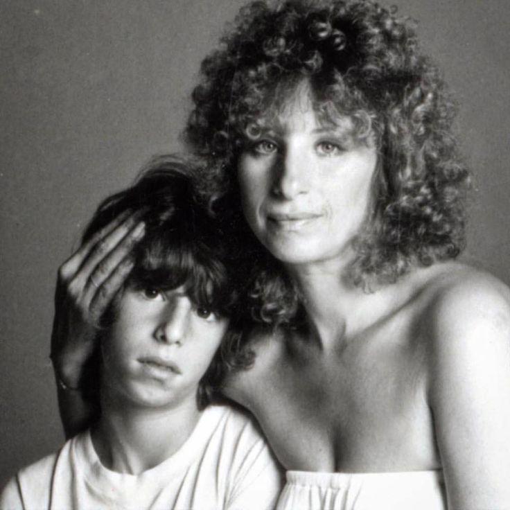 Barbra And Son, Jason Gould - Barbra Streisand Photo