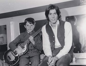 Barry with youngest brother Andy c. 1968