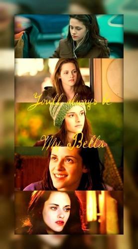 Bella 백조 and Emma 백조 바탕화면 entitled Bella 백조