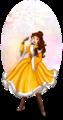 Belle - Disney Winter Princess - disney-princess fan art