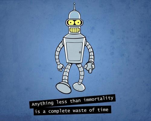 Futurama wallpaper titled Bender