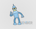 futurama - Bender wallpaper