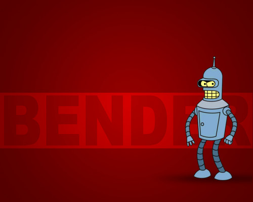 Futurama wallpaper called Bender