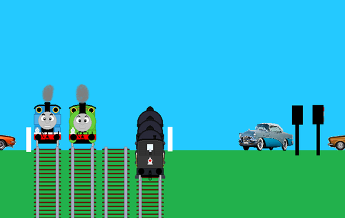 Thomas the Tank Engine wallpaper called Best Friends
