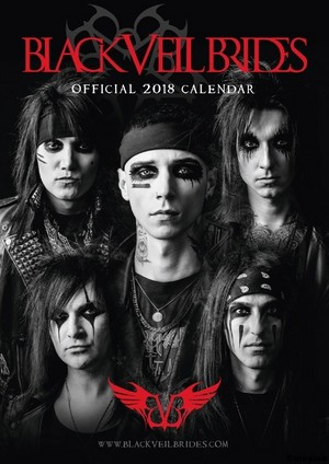 Black Veil Brides 2018 Calendar