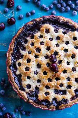 蓝莓 Pie