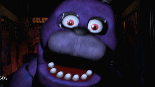 five nights at freddy's wallpaper called Bonnie