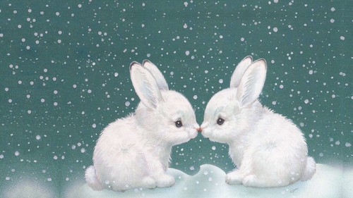 Animals wallpaper called Bunnies
